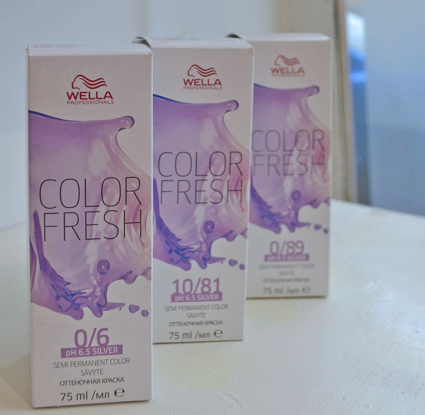 Wella Color Fresh suoraväri